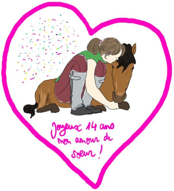 Joyeux Anniversaire Ma Soeur D Amour Chapeau Peruvien