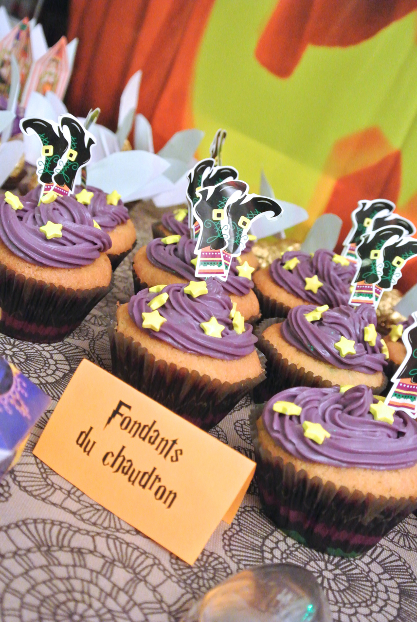 Cupcakes - Halloween Potter Party