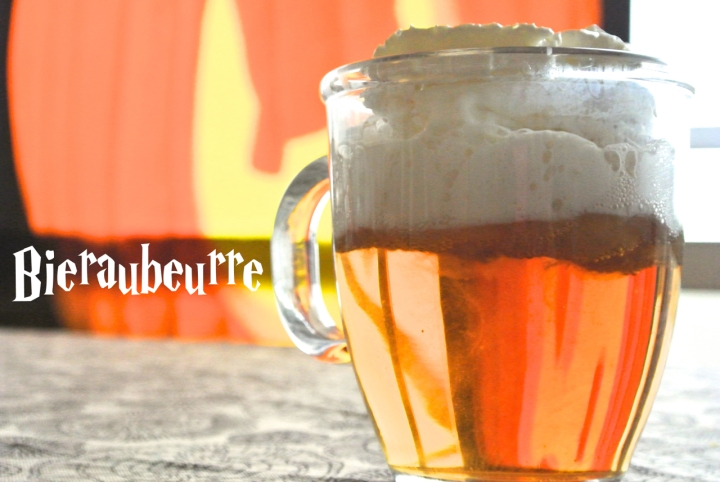 Bièraubeurre butterbeer - Halloween Potter Party