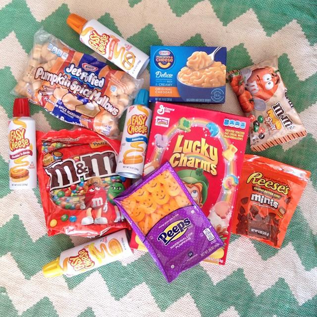 Halloween produits américains