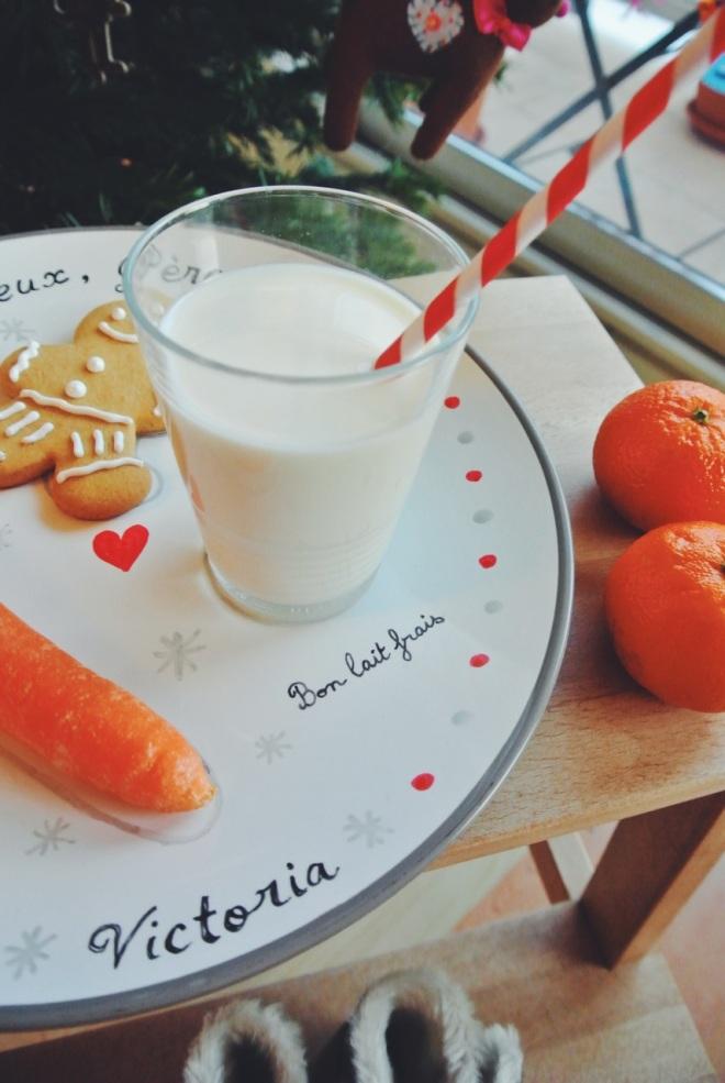lait père-noël