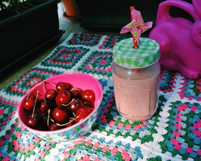 milkshake cerise