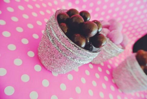diy jars paillettes