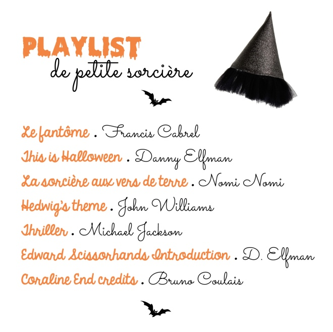 playlist halloween enfant