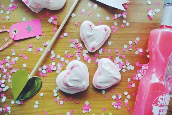 meringues coeur saint valentin