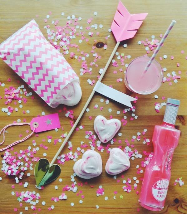 meringues saint valentin