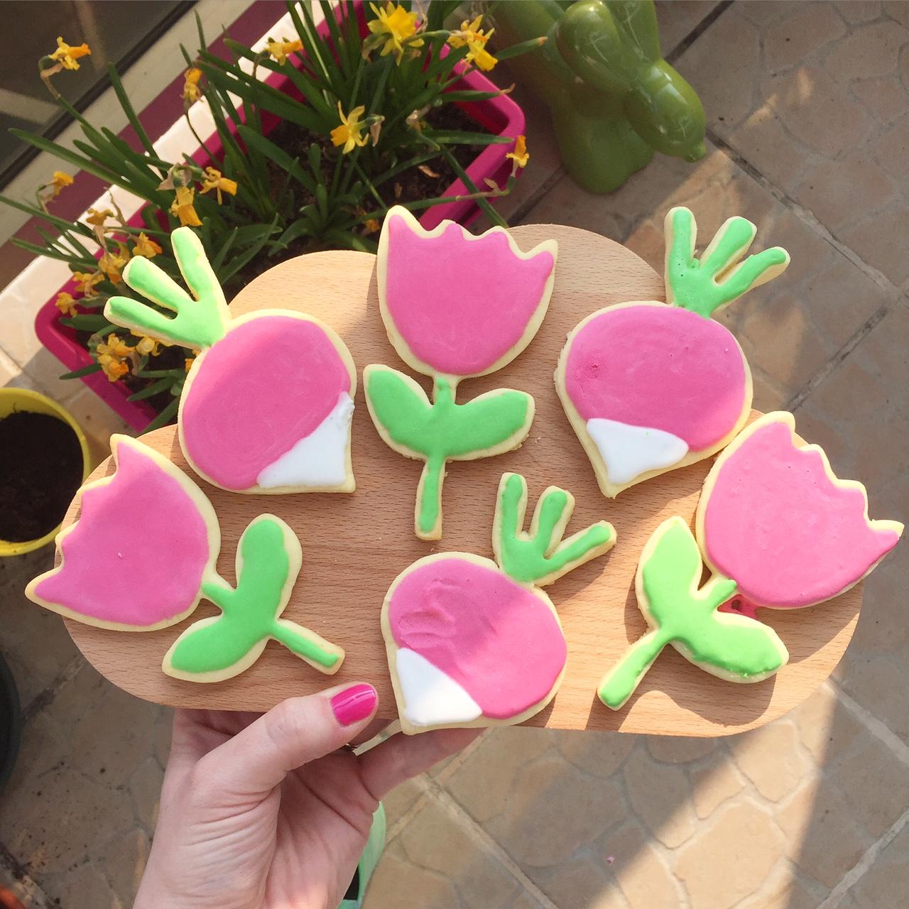 biscuits printemps