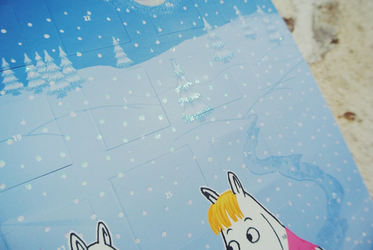 calendrier avent moomins