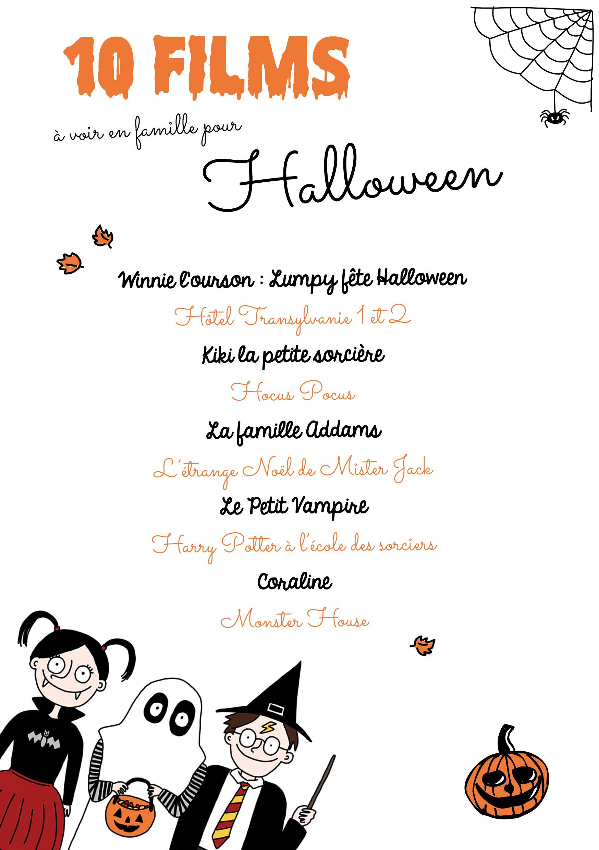 Films famille Halloween
