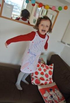 Fée Parmoha robe personnalisée vêtement personnalisé enfant dessin enfant